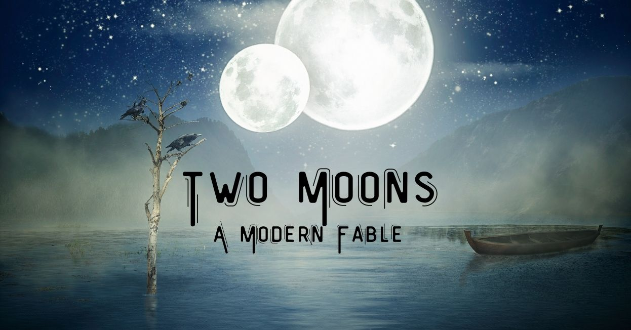 Two Moons at night